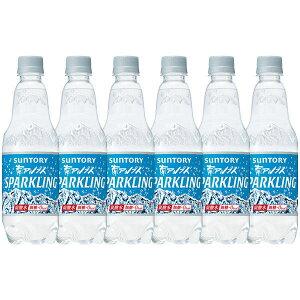 サントリー南アルプスの天然水スパークリング 炭酸水 ペットボトル 500ml×24本
