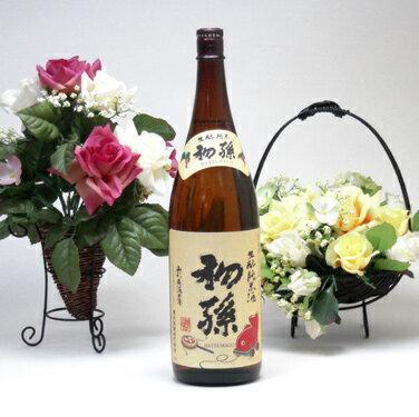 【 6本セット】東北銘醸 初孫 生もと純米酒 1800ml×6
