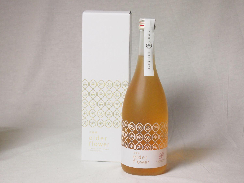 気品み満ち溢れた梅酒 花梅酒〜elder flower〜 12度 720ml×4本