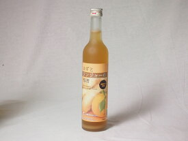 【キャッシュレス5%還元】国産ゆず使用 ゆずとジンジャーの梅酒 500ml×4本 お歳暮