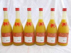 6本セット ミルクたっぷりマンゴーの梅酒 研醸 720ml×6本