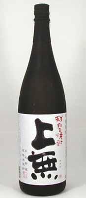 【 6本セット】【限定品】大石酒造場 かめ貯蔵 本格米焼酎 上無 1800ml×6本