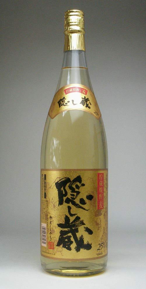 【 6本セット】濱田酒造 貯蔵麦焼酎  隠し蔵 25°1800ml
