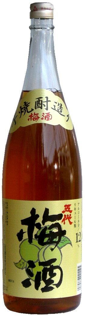 五代 梅酒 12°1800ml