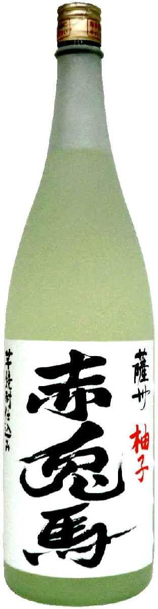 【あす楽】赤兎馬 ゆず酒 14°720ml