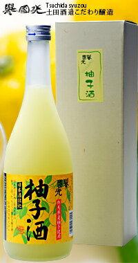 誉国光 日本酒仕込みの柚子酒 720ml