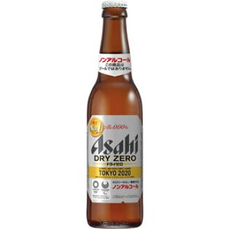 Asahi dry zero small bottle 334ml×30 book (1 case)