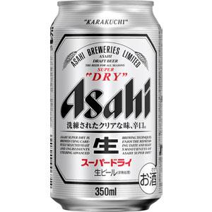 アサヒ スーパードライ 350ml×24缶(1ケース)