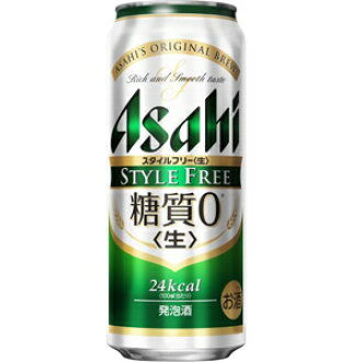 無朝日風格(STYLE FREE)500ml*24罐(1箱)