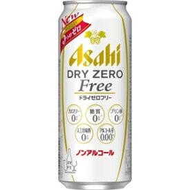 アサヒ ドライ ゼロフリー 【ノンアルコール・ビールテイスト飲料】 500ml×24缶(1ケース)