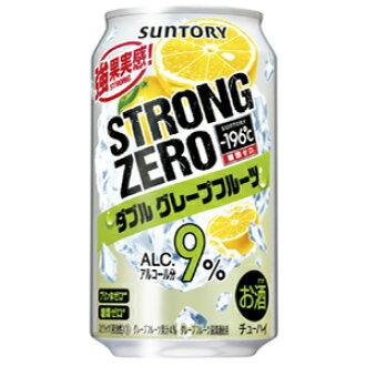 三得利Chu-Hi-196度强壮零双西柚350ml*24罐(1箱)