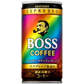 ■185 g of bargain ■ Suntory BOSS (boss) rainbow mountain blend *30 can (one case)