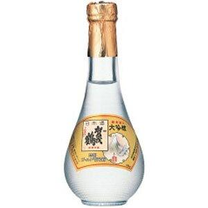 賀茂鶴 特製ゴールド賀茂鶴 大吟醸 純金箔入 丸瓶 180ml