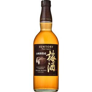 ●よりどり12本で送料無料●(一部地域除く)サントリー 山崎蒸溜所貯蔵 焙煎樽熟成梅酒 750ml