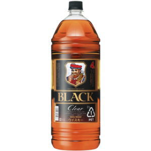 ●よりどり4本で送料無料●(一部地域除く)ブラックニッカ クリア 4L ペットボトル [ブレンディッドウイスキー]