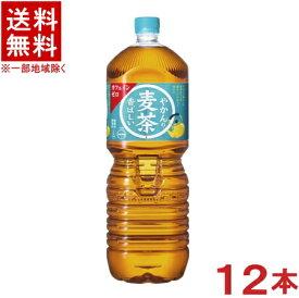 [飲料]★送料無料★※2ケースセット コカ・コーラ ◆やかんの麦茶◆ (6本+6本)2LPETセット from一(はじめ) (12本)(2000ml)(2リットル)(むぎ茶)(Coca-Cola)