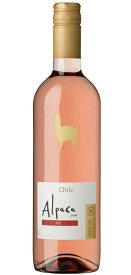 [ワイン]24本まで同梱可☆サンタヘレナ・アルパカ・ロゼ 750ml 1本 (チリ)(ROSE)アサヒビール