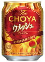 〔梅酒〕4ケースまで同梱可★The CHOYA  ウメッシュ 250缶 1ケース本24本入り (ザ・チョーヤ)(プレミアム)(…