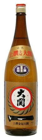 〔清酒・日本酒〕9本まで同梱可★上撰金冠 大関 1.8L・1800ml 瓶 【RCP】※【lucky5days】