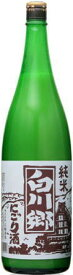 [清酒・日本酒]9本まで同梱可☆白川郷 純米にごり酒  1.8L 1本 (1800ml瓶)三輪酒造