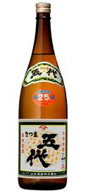 [芋焼酎]9本まで同梱可★25度 さつま五代 1.8L瓶 1本 山元酒造 (1800ml)
