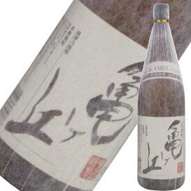 芋焼酎 焼酎 芋 亀ヶ丘 25度 1800ml 吹上酒造 いも焼酎 鹿児島 酒 お酒 ギフト 一升瓶 お祝い バレンタイン