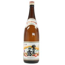 芋焼酎 焼酎 芋 紫尾の露 しびのつゆ 25度 1800ml 軸屋酒造 いも焼酎 鹿児島 酒 お酒 ギフト お祝い お歳暮