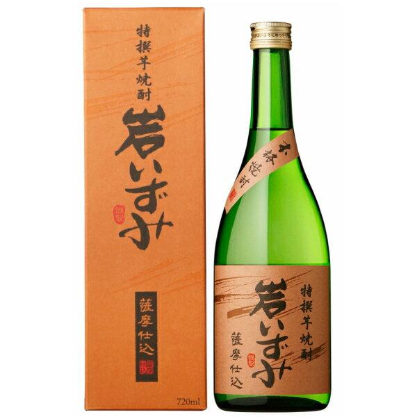 芋焼酎 焼酎 芋 岩いずみ 化粧箱入 25度 720ml 白露酒造 いも焼酎 鹿児島 酒 お酒 ギフト お祝い 母の日