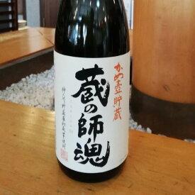 蔵の師魂 かめ壷貯蔵 いも 25度 1.8L 小正醸造 鹿児島/日置