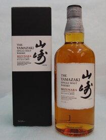 【逆輸入】シングルモルト山崎 ミズナラ 48度 700ml 【2013】THE YAMAZAKI SINGLE MALT WHISKY【MIZUNARA 2013】【クレジット決済/銀行振り込み決済に対応】【代引き決済不可】