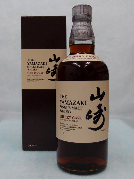 サントリーシングルモルトウイスキー山崎シェリーカスク 【2010】48%700ml THE YAMAZAKI SINGLE MALT WHISKY