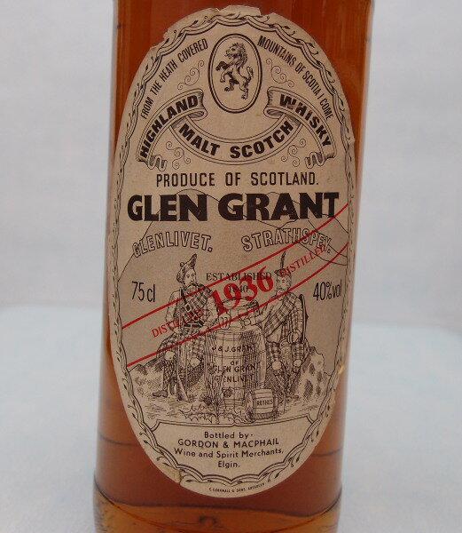 グレングラント1936【G&M】40%700ml【クレジット決済・銀行振り込み決済に対応】【代引き決済不可】