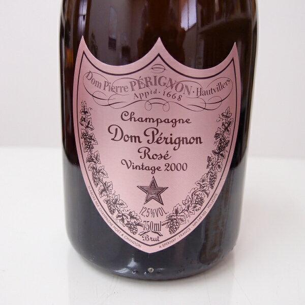 ドン・ペリニョン ロゼ 【ヴィンテージ2000】750ml【正規品】 【箱なし】Dom Perignon Rose Vintabe2000