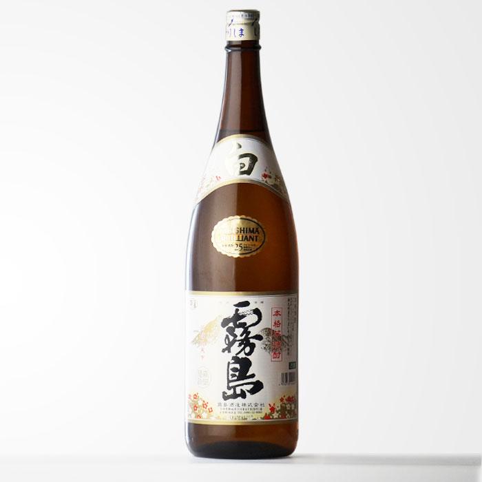 霧島酒造 【白霧島】 (しろきりしま)25度1800ml瓶 芋焼酎 【RCP】