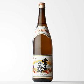軸屋酒造 紫尾の露 (しびのつゆ) 1800ml 芋焼酎 鹿児島県