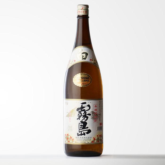 霧島酒造 「白霧島」 (しろきりしま)20度1800ml瓶芋焼酎 【RCP】
