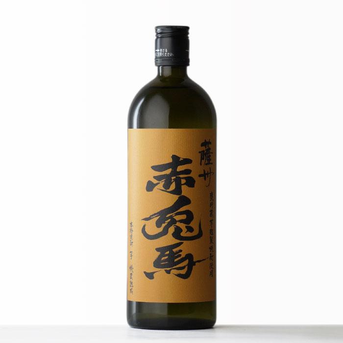 薩州 赤兎馬 甕貯蔵芋麹製焼酎使用 濱田酒造 芋焼酎 25度 720ml 瓶【RCP】
