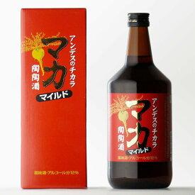 マカ・マイルド陶陶酒・甘口 陶陶酒本舗 12度 720ml