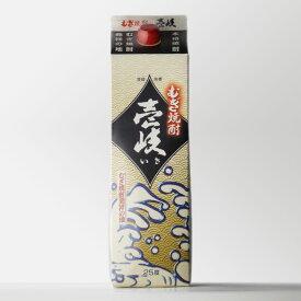 むぎ焼酎壱岐 玄海酒造 25度 1800ml パック 【RCP】 敬老の日