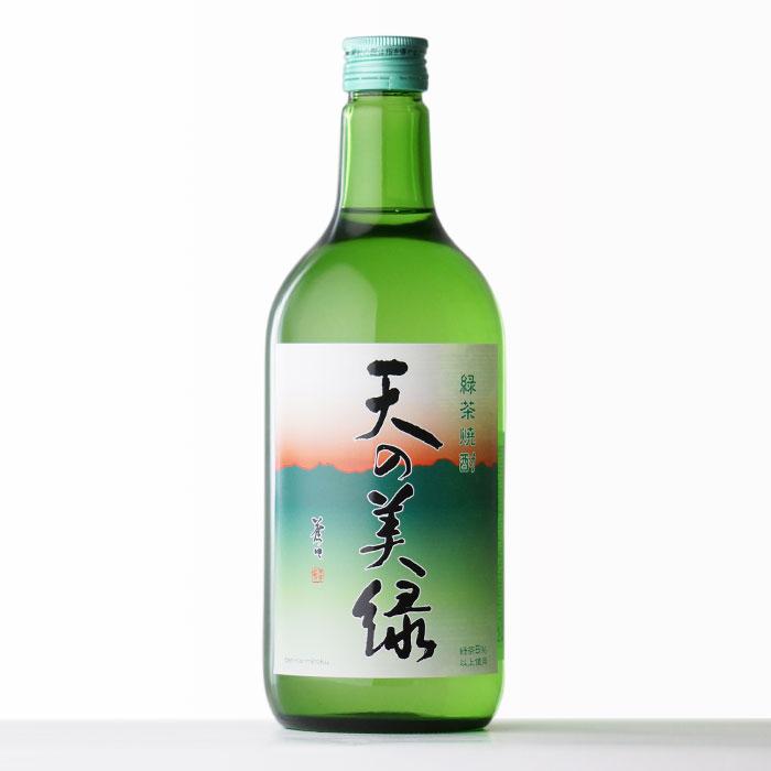 天の美緑 緑茶焼酎 (株)喜多屋 25度 720ml 瓶 【RCP】