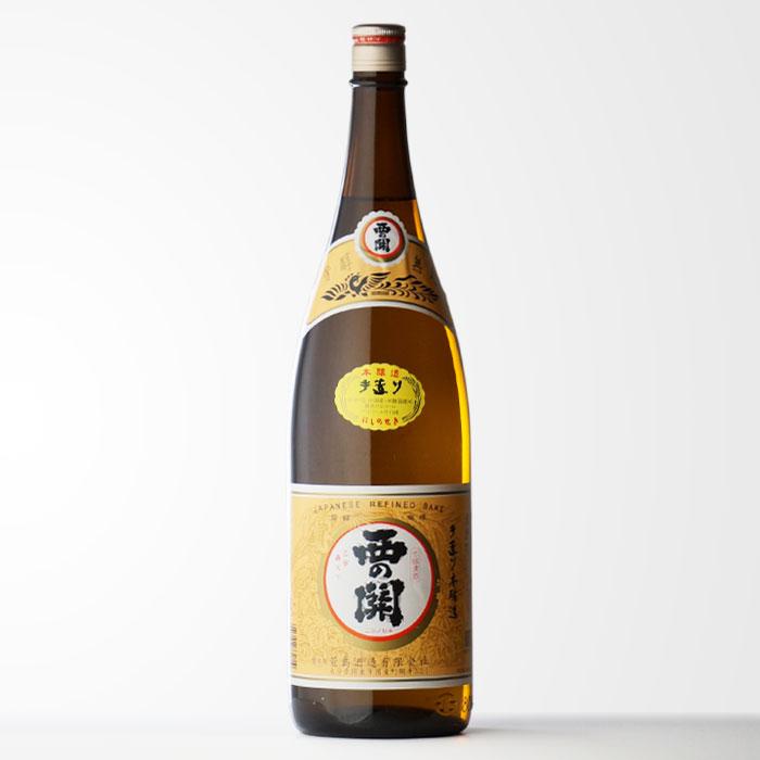 「西の関 手造り本醸造」 1800ml瓶 萱島酒造 大分県 日本酒 清酒 【RCP】
