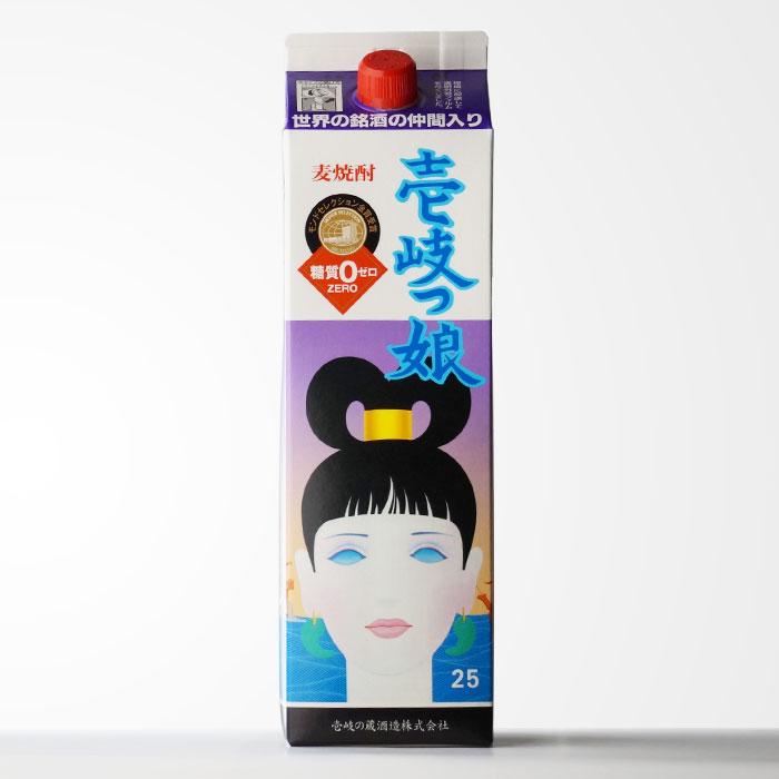 麦焼酎 壱岐の蔵酒造 【壱岐っ娘】 1800mlパック 【RCP】
