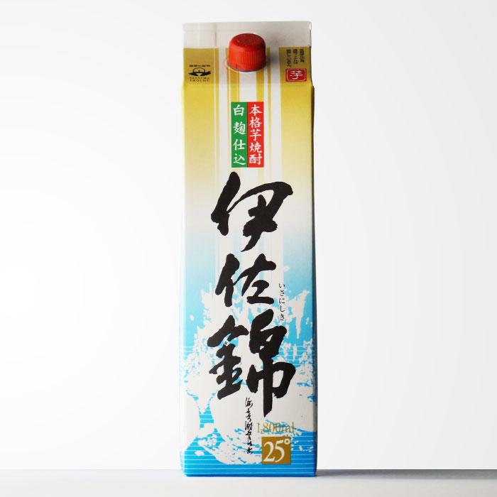 大口酒造 【伊佐錦】 1800mlパック 地元でも絶大な人気を誇る芋焼酎【RCP】
