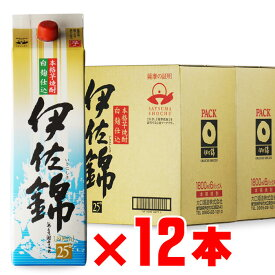 大口酒造 伊佐錦 (いさにしき) 1800mlパック 合計 12本セット 地域別 送料無料