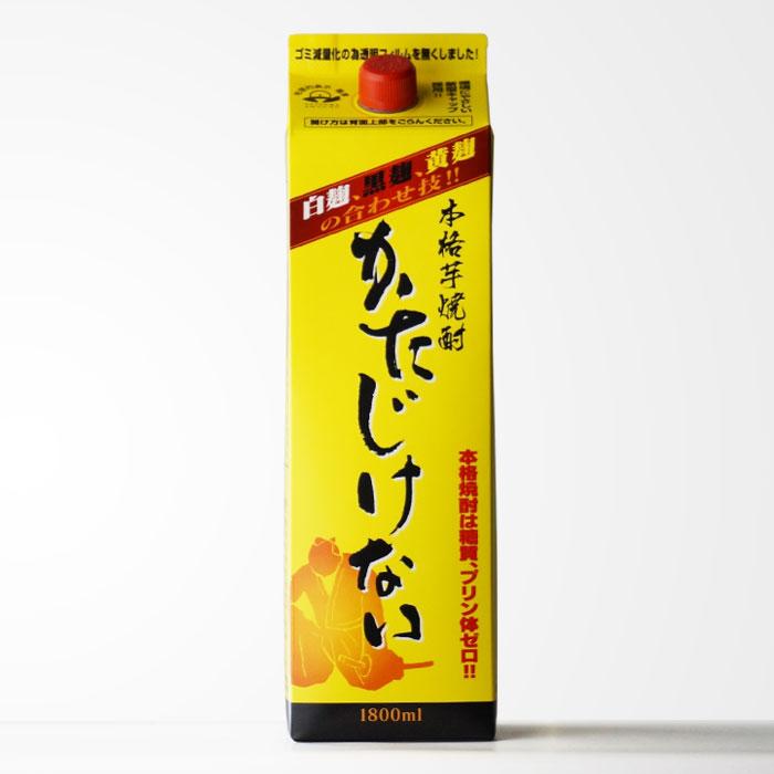 かたじけない 芋焼酎 さつま無双 25度 1800mlパック 【RCP】