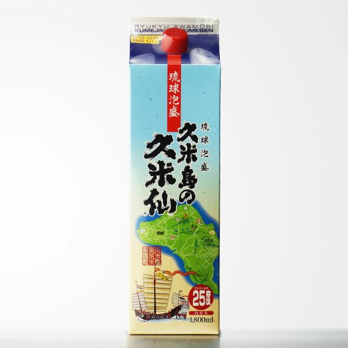 【沖縄県】 久米島の久米仙 25度1800mlパック 泡盛 【RCP】