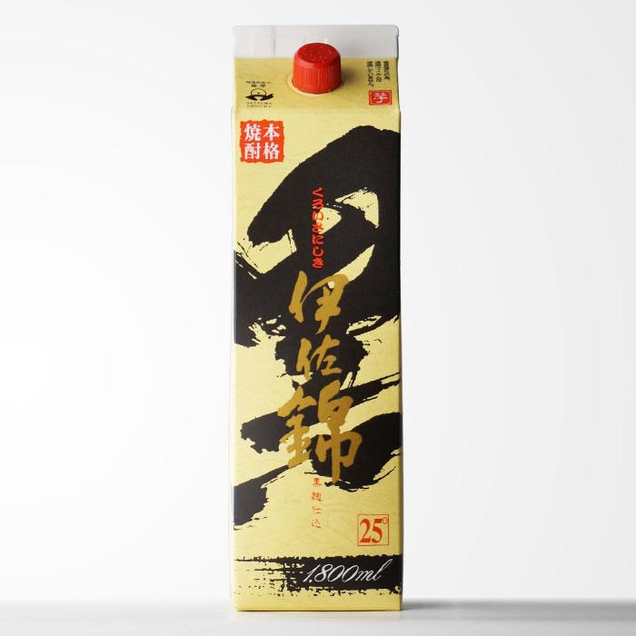 大口酒造 【黒伊佐錦】(くろいさにしき)【1800mlパック】 地元でも絶大な人気を誇る芋焼酎 【RCP】