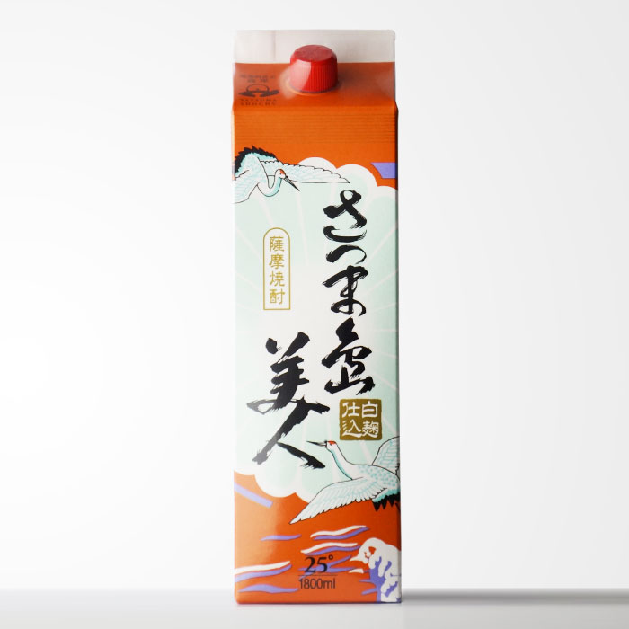 長島研醸 【さつま島美人】 1800mlパック地元で圧倒的な人気を誇る芋焼酎 【RCP】