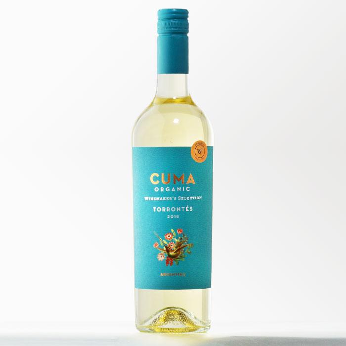アルゼンチンワイン 【クマ オーガニック トロンテス】 750ml 白ワイン 【RCP】