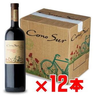 """Whole country"" コノスルオーガニックカベルネカルメネールシラー red Chile 750 ml 12 set"
